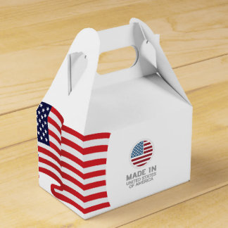 Made in USA! Design in USA!! Favor Box