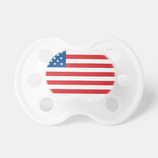 Made In Usa Flag Pacifier