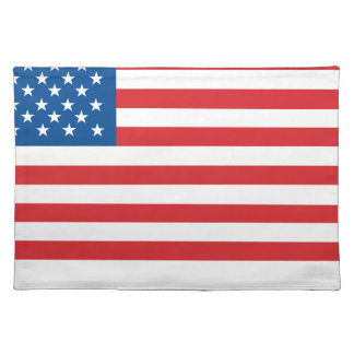 Made In Usa Flag Placemat