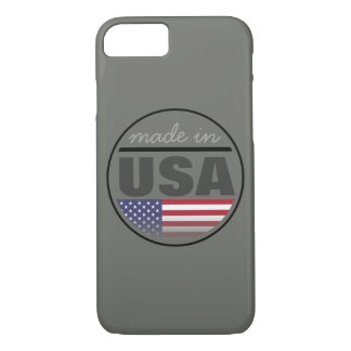 """Made in ...""""USA"""" iPhone 7 Case"""