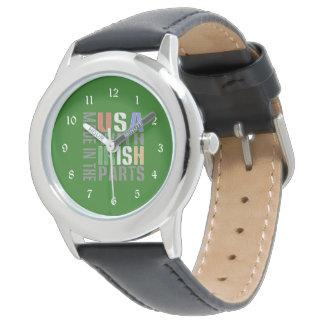 Made in USA Irish Parts Wristwatch