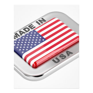 Made in USA Letterhead
