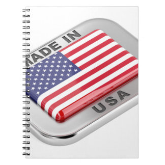 Made in USA Notebooks