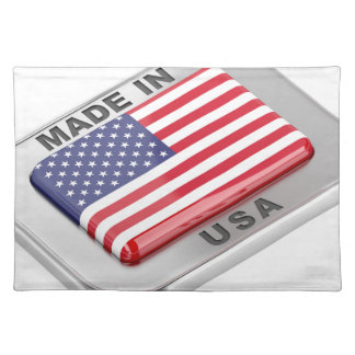 Made in USA Placemat