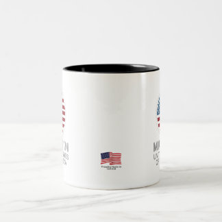 Made in USA Two-Tone Coffee Mug