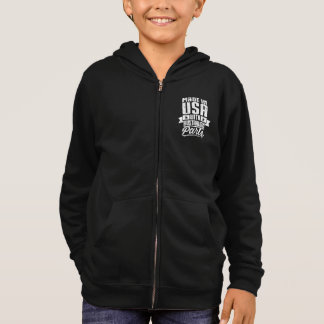 Made In USA With Australian Parts Hoodie