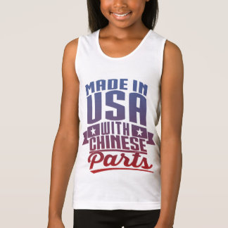 Made In USA With Chinese Parts Tank Top