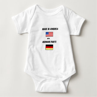 MADE IN USA WITH GERMAN PARTS BABY BODYSUIT