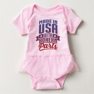 Made In USA With Korean Parts Baby Bodysuit