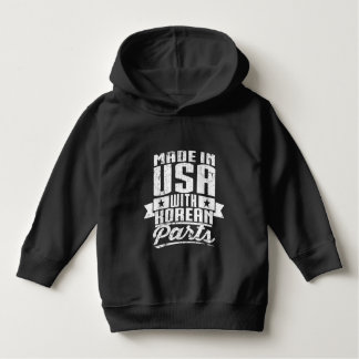 Made In USA With Korean Parts Hoodie