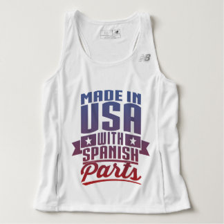 Made In USA With Spanish Parts Tank Top