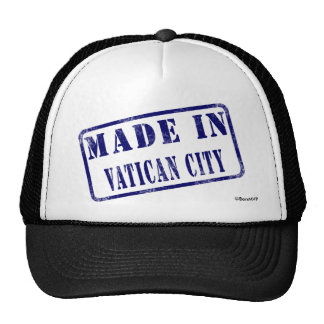 Made in Vatican City Hat