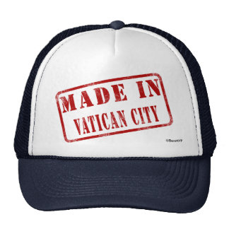 Made in Vatican City Hat