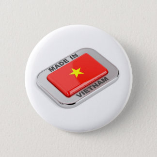 Made in Vietnam shiny badge 2 Inch Round Button
