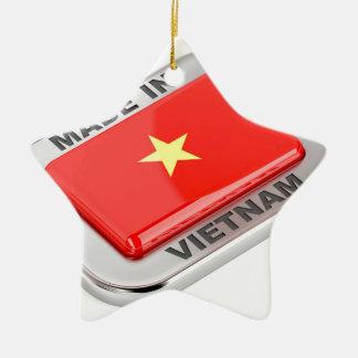 Made in Vietnam shiny badge Ceramic Ornament