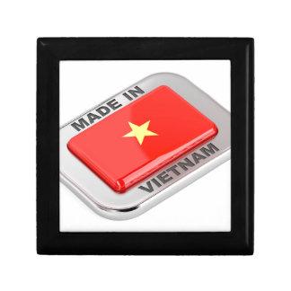 Made in Vietnam shiny badge Gift Box