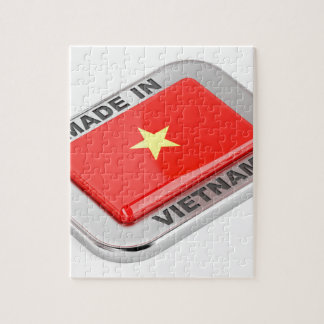 Made in Vietnam shiny badge Jigsaw Puzzle