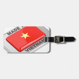 Made in Vietnam shiny badge Luggage Tag