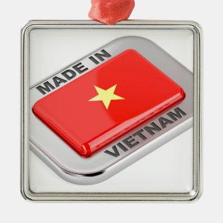 Made in Vietnam shiny badge Metal Ornament
