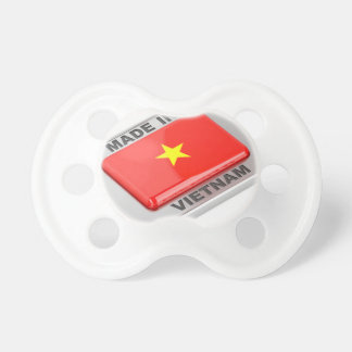 Made in Vietnam shiny badge Pacifier