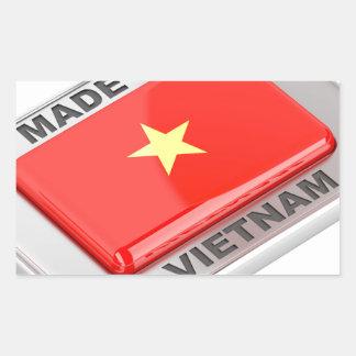 Made in Vietnam shiny badge Sticker