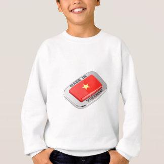 Made in Vietnam shiny badge Sweatshirt