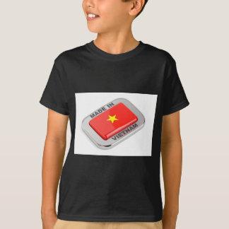 Made in Vietnam shiny badge T-Shirt