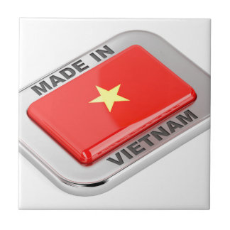 Made in Vietnam shiny badge Tile
