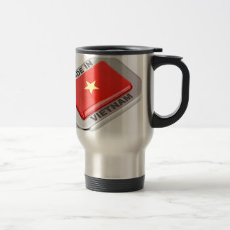 Made in Vietnam shiny badge Travel Mug