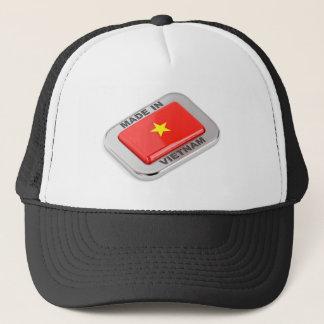 Made in Vietnam shiny badge Trucker Hat