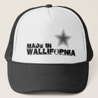 Made in Wallifornia Cap Of Truck-driver