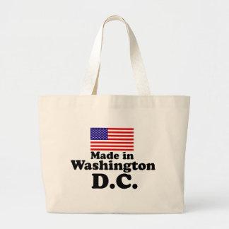 Made in Washington DC Large Tote Bag