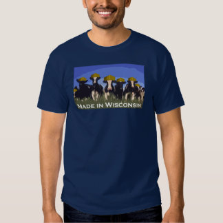 Made in Wisconsin T Shirt