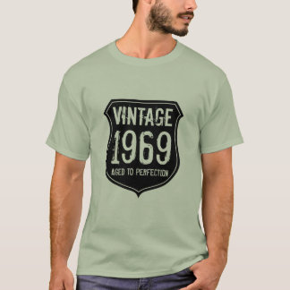 Made in year 1969 | aged to perfection t shirt men