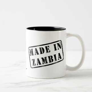 Made in Zambia Two-Tone Coffee Mug