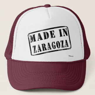 Made in Zaragoza Trucker Hat