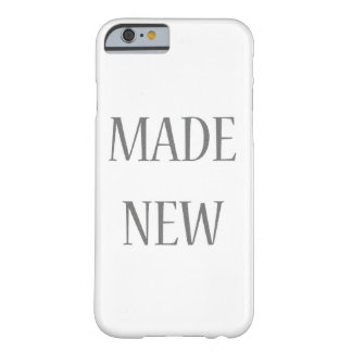 Made New Silver Barely There iPhone 6 Case