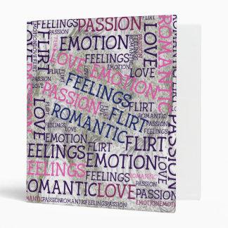 made of words,great fellings binder