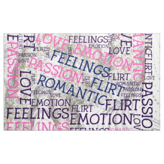 made of words,great fellings fabric