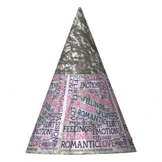 made of words,great fellings party hat