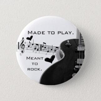 Made to Play. 2 Inch Round Button