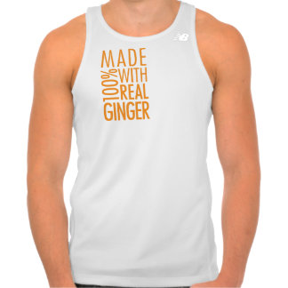 Made with 100% Real Ginger Tank Top