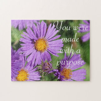 Made With A Purpose New England Aster Puzzle