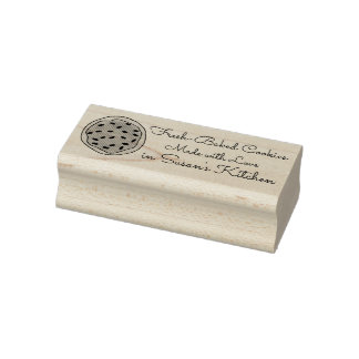 Made with Love Fresh Baked Cookies Baking Stamp