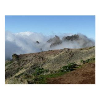 Madeira Above The Clouds postcard, customize Postcard