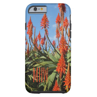 Madeira Aloe custom monogram phone cases
