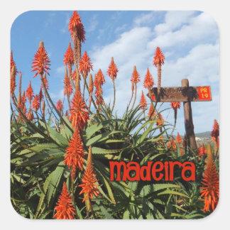 Madeira Aloe stickers