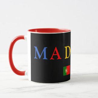 Madeira Custom Black Mug