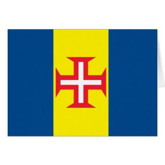 Madeira Flag Card