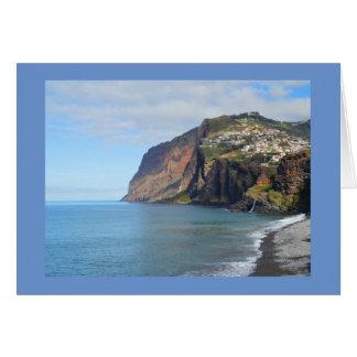Madeira Greeting Card